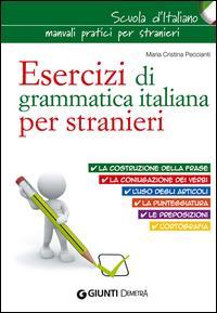 Esercizi di grammatica per stranieri