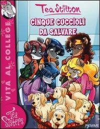 Cinque cuccioli da salvare