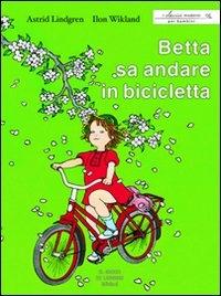 Betta sa andare in bicicletta