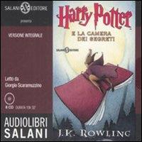 Harry Potter e la camera dei segreti [audioregistrazione]