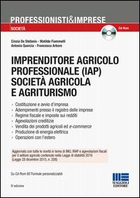 Imprenditore agricolo professionale (IAP), società agricola e agriturismo