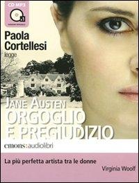 Paola Cortellesi legge Orgoglio e pregiudizio [audioregistrazione]