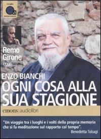 Remo Girone legge Ogni cosa alla sua stagione [audioregistrazione]