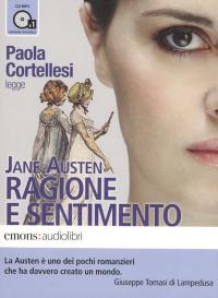 Paola Cortellesi legge Ragione e sentimento [audioregistrazione]