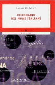 Dizionario dei nomi italiani