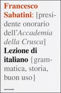 Lezione di italiano