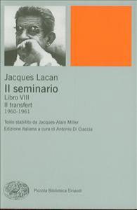 Libro 8: Il transfert, 1960-1961