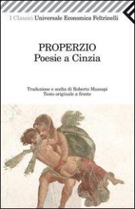 Poesie a Cinzia