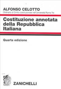 Costituzione annotata della Repubblica italiana