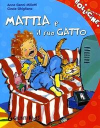 Mattia e il suo gatto