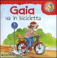 Gaia va in bicicletta