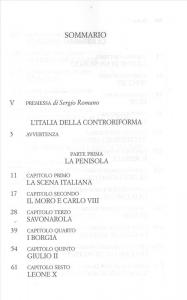 4: L'Italia della controriforma