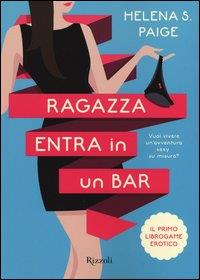 Ragazza entra in un bar