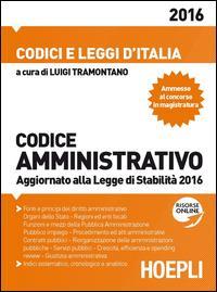 Codice amministrativo 2016