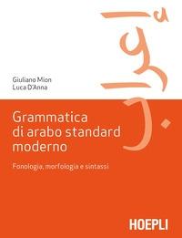 Grammatica di arabo standard moderno
