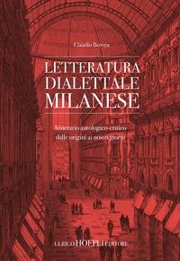 Letteratura dialettale milanese : itinerario antologico-critico dalle origini ai nostri giorni