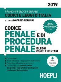 Codice penale e di procedura penale