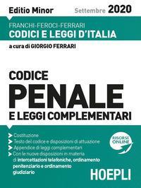 Codice penale [e leggi complementari]