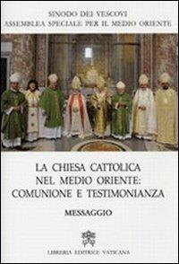 La Chiesa cattolica nel Medio Oriente