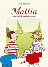 Mattia va alla prima Comunione