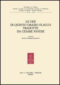 Le Odi di Quinto Orazio Flacco tradotte da Cesare Pavese