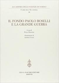 14: Il fondo Paolo Boselli e la grande guerra