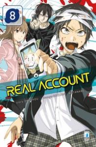Real account / story Okushou ; manga Shizumu Watanabe. 8