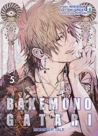 Bakemonogatari : monster tale / story Nisioisin ; art Oh! Great ; character design Vofan. 5