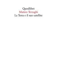 La terra e il suo satellite