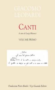 Canti / Giacomo Leopardi. 1
