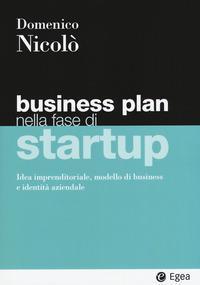 Business plan nella fase di startup