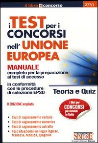 I test per i concorsi nell' Unione Europea