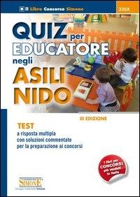 Quiz per educatore negli asili nido
