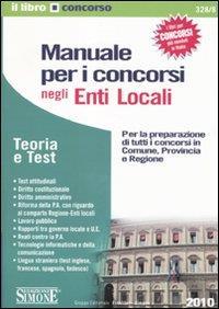 Manuale per i concorsi negli Enti locali