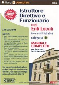 Istruttore direttivo e funzionario negli enti locali