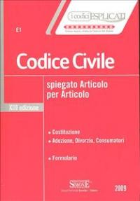 Codice civile spiegato articolo per articolo