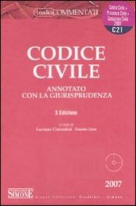 Codice civile annotato con la giurisprudenza