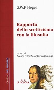 Rapporto dello scetticismo con la filosofia