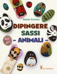 Dipingere sassi, animali
