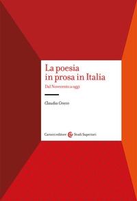 La poesia in prosa in Italia
