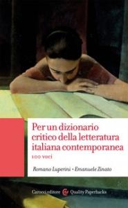 Per un dizionario critico della letteratura italiana contemporanea