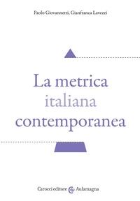 La metrica italiana contemporanea