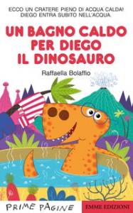 Un bagno caldo per Diego il dinosauro