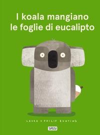 I koala mangiano le foglie di eucalipto