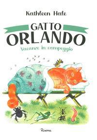 Gatto Orlando. Vacanze in campeggio