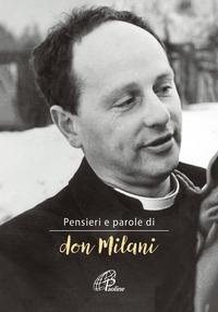 Pensieri e parole di Don Milani