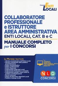Collaboratore professionale e istruttore area amministrativa