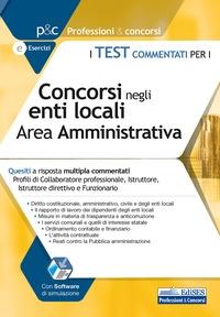 Test commentati per i concorsi negli enti locali