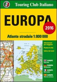 Atlante stradale d'Europa 1:800.000