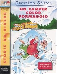 Un camper color formaggio